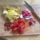 Summer recipe ingredients