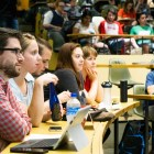 The Graduate and Professional Student Assembly reinstated an ad hoc committee on Monday to address the goals of the Graduate and Professional Community Initiative.