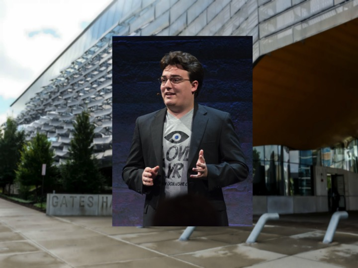 Palmer Luckey, founder of Oculus VR and Anduril Industries, will speak on Wednesday at an information session hosted by the Association of Computer Science Undergraduates.