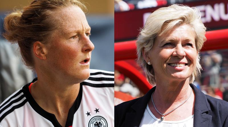 Melanie Behringer und Silvia Neid im Finale