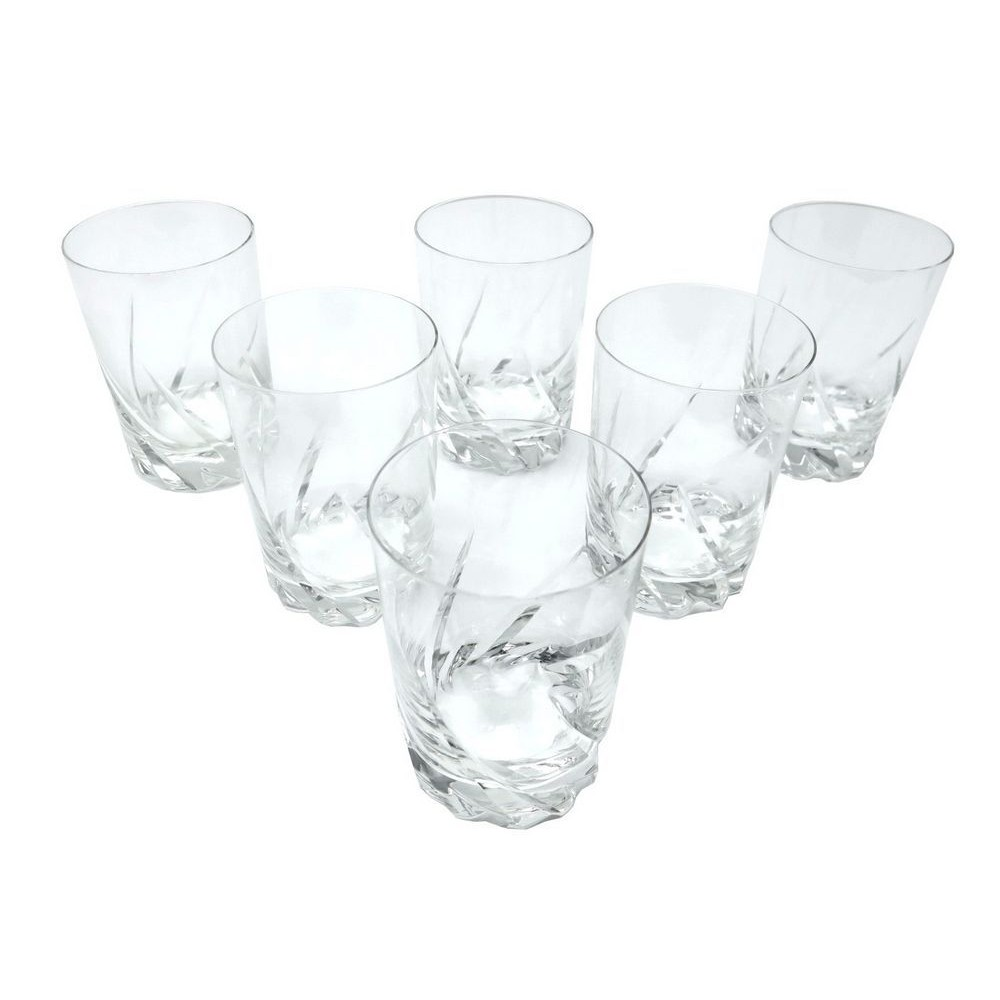 Verre De Whisky Lot De 6 Verres A Whisky Daum France Modele Bleneau En