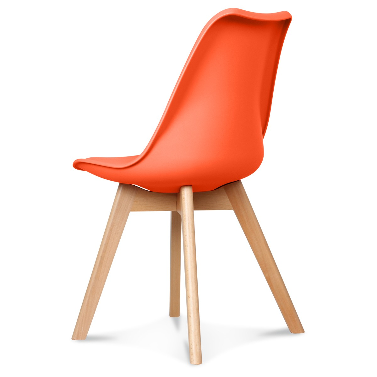 Chaise Scandinave Orange Chaise Design Scandinave Orange Scandy Couleur Orange