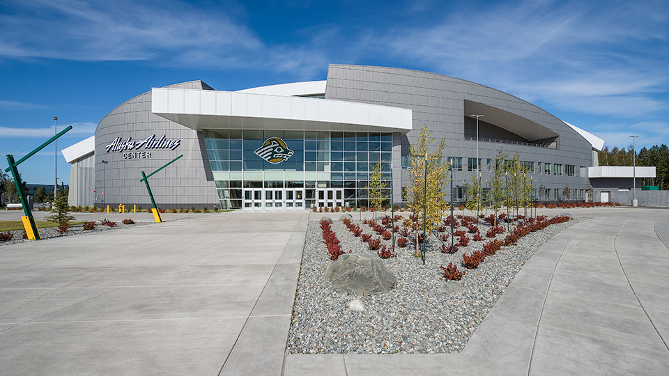 Alaska Airlines Center Cornerstone General Contractors