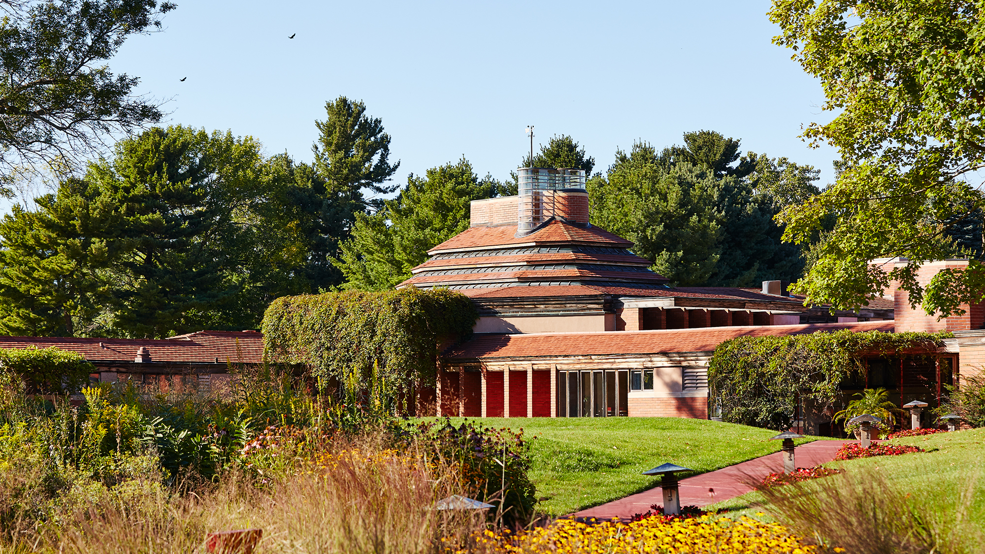 Frank Lloyd Wright Wingspread Frank Lloyd Wright S Largest Prairie Style House Was