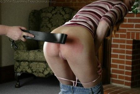 bare bottom spanking art