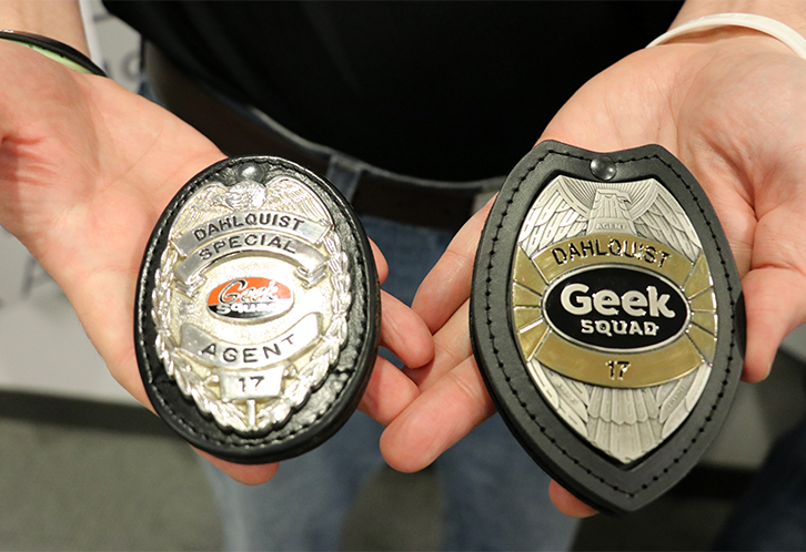 Geek Squad Introduces New Badges for Longtime Agents - Best Buy - geek squad autotech