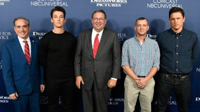 Comcast NBCUniversal Screens DreamWorks Pictures' 'Thank You For Your Service' in Washington, DC ...