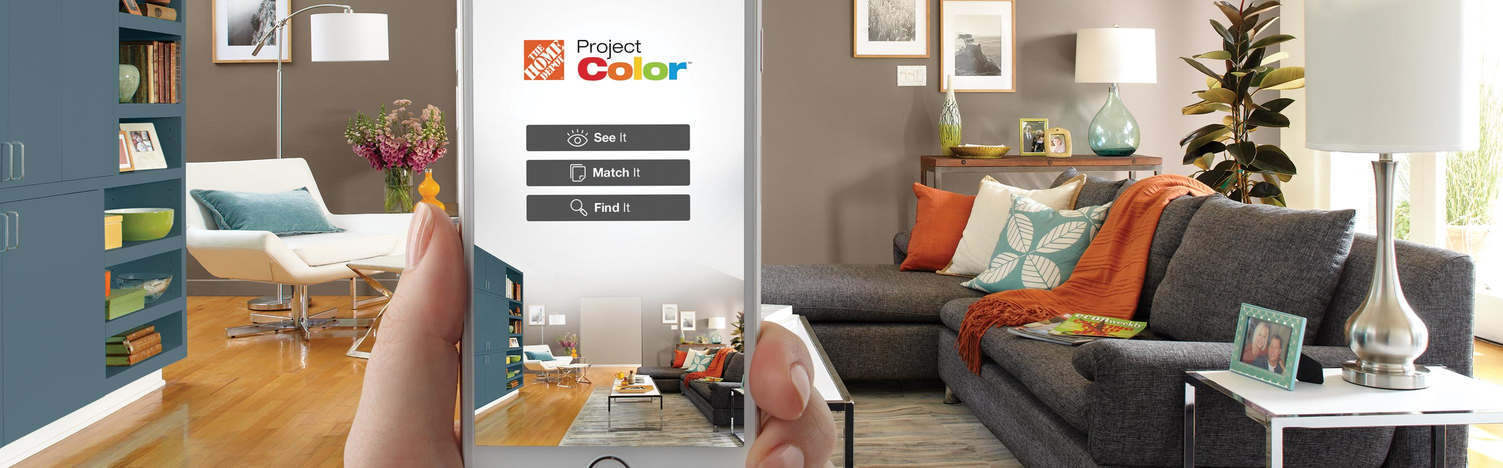 Take A Picture Of A Room And Design It App The Home Depot New Technology Shows You The Perfect