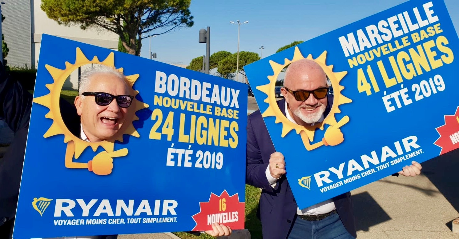 Marseille Nantes Pas Cher Ryanair To Open 2 New French Bases At Bordeaux Marseille