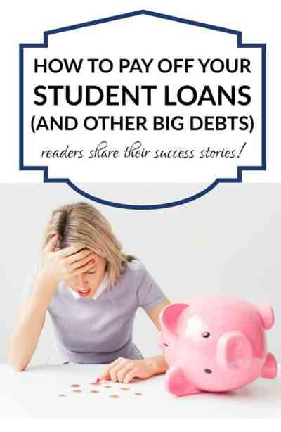 How to Pay Off Big Student Loans
