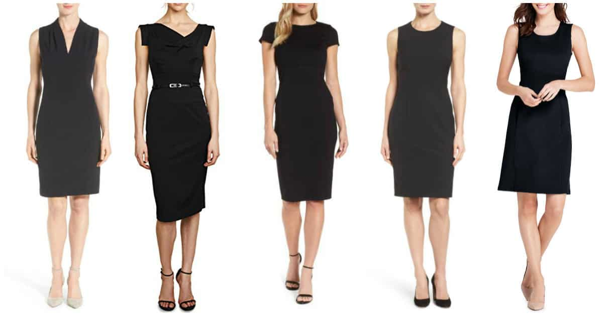 Classic Sheath Dresses for Work: Easy Style for