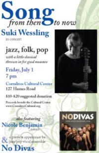 Suki Wessling Concert – click on poster