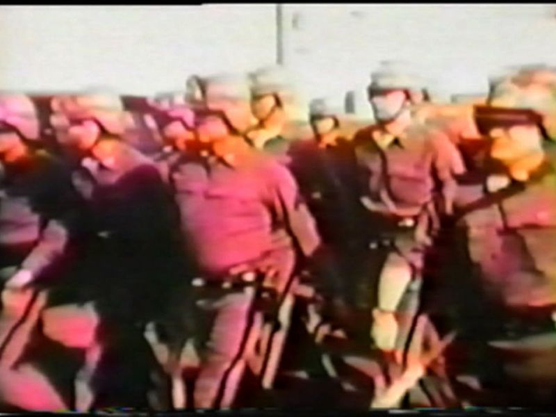 Attica: Roots of Resistance (archival footage of National Guard troops being sent into the Attica prison)