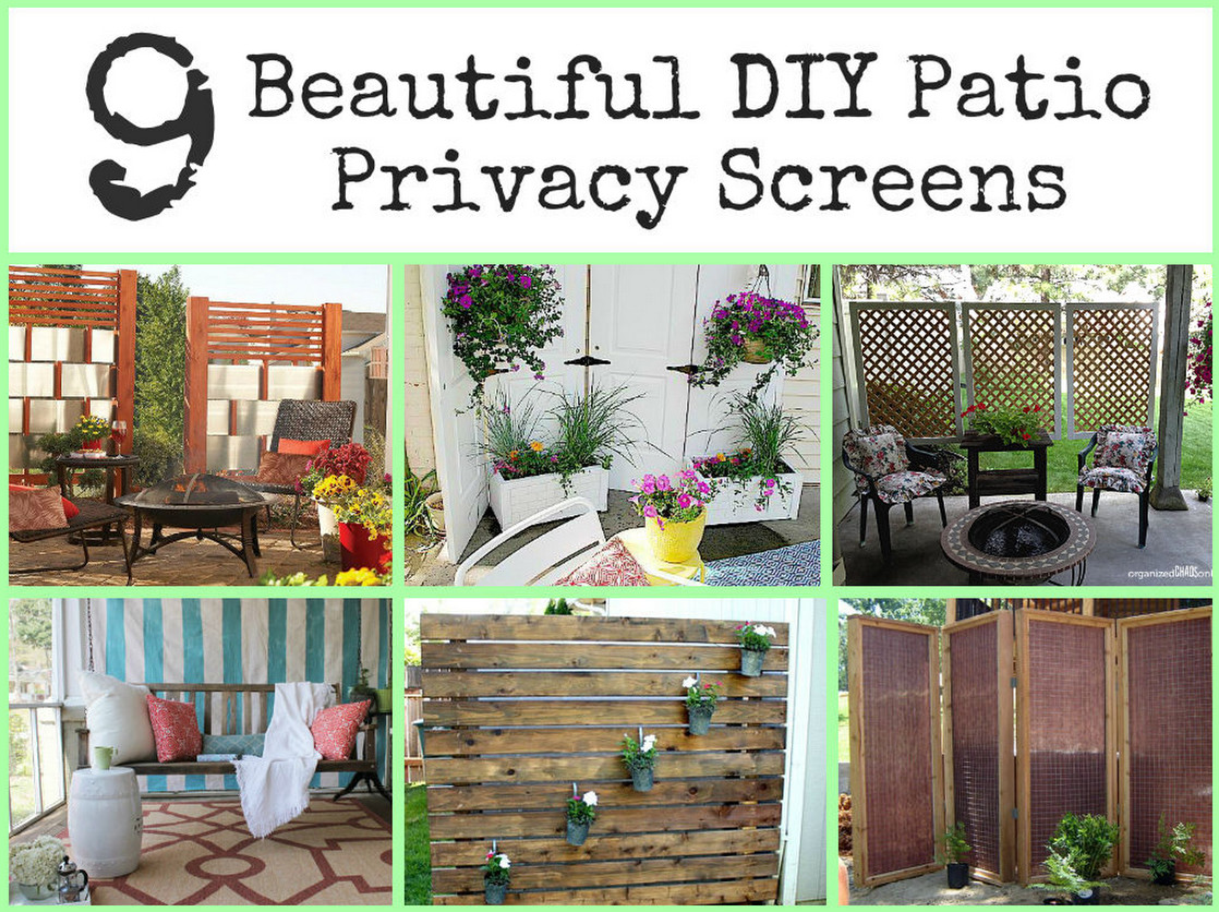 Patio Screening Ideas Diy Outdoor Privacy Screen Interesting Ideas For Home