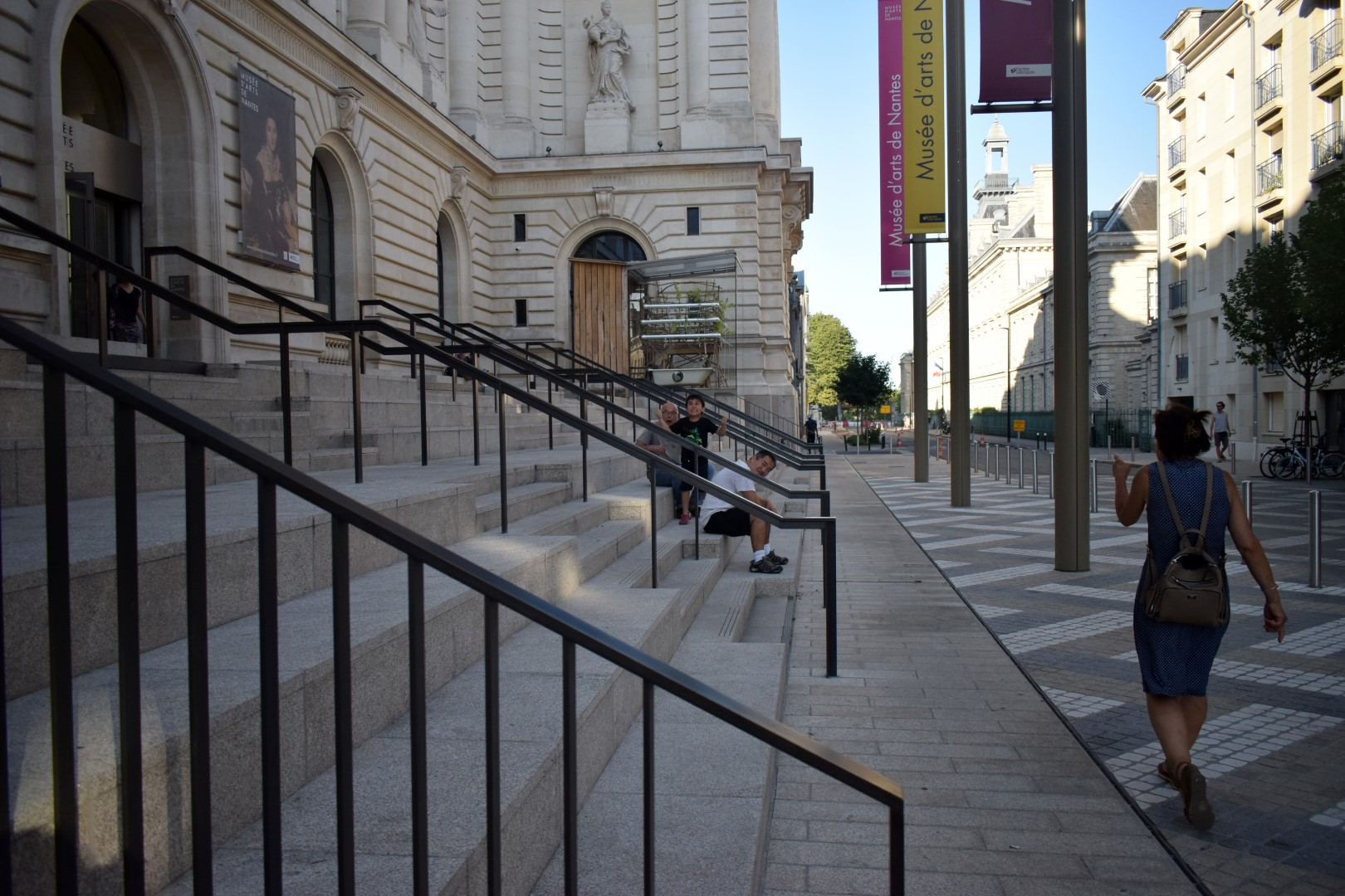 Nantes Beaux Arts Night At The Museum Art Is Best Enjoyed On A Hot Day After 7 P M
