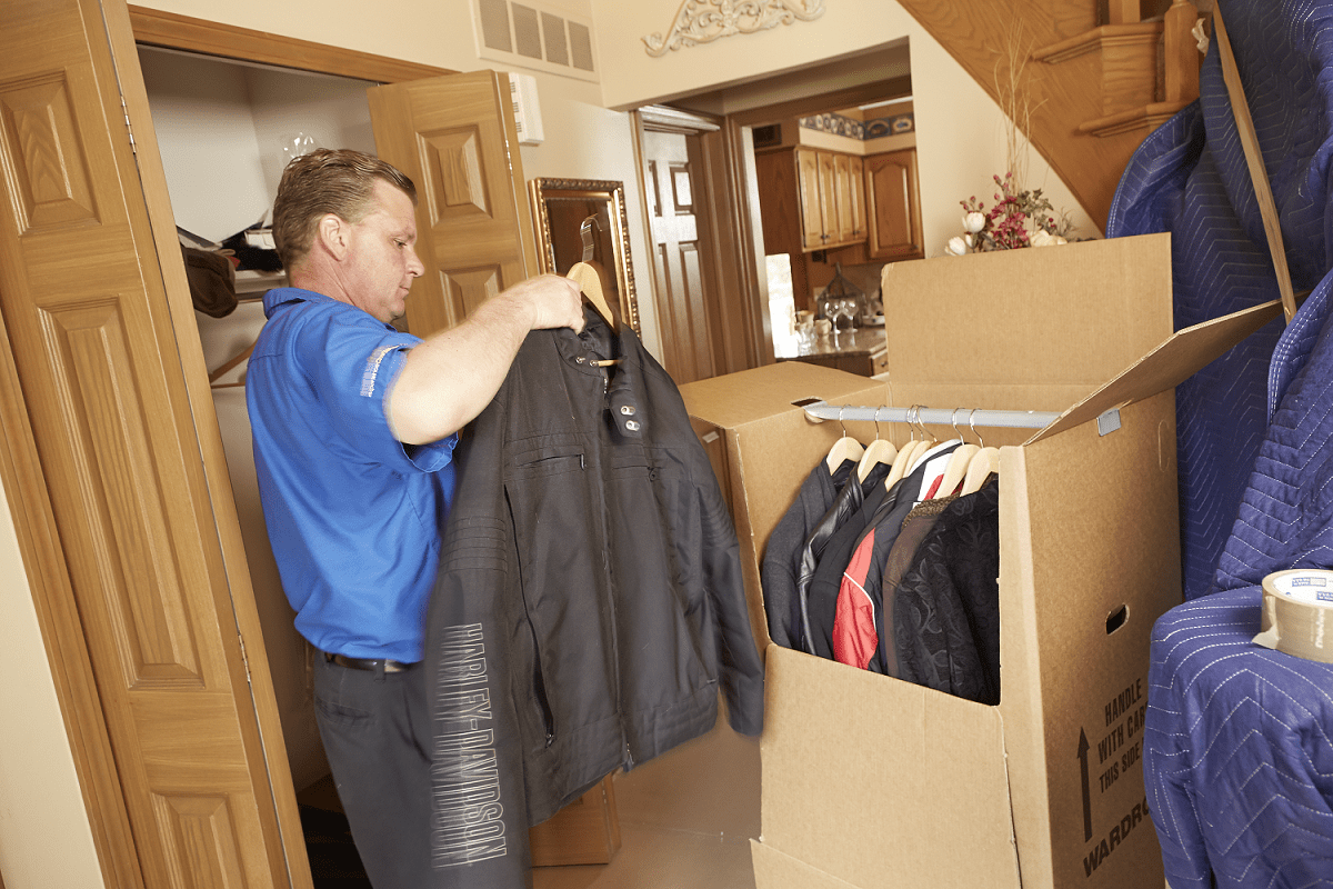 Box Room Wardrobe Packing Tips How To Pack A Wardrobe Box Corrigan Moving Systems