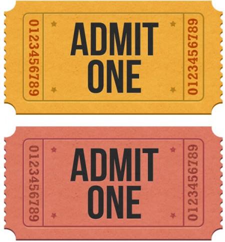 Admission Ticket Template Free Download - Arch-times - admit one ticket template free
