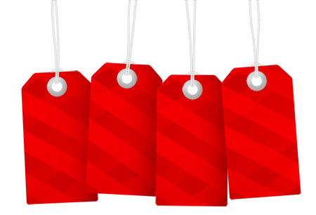 Hanging Sale Tag Templates (PSD) - sale tag template