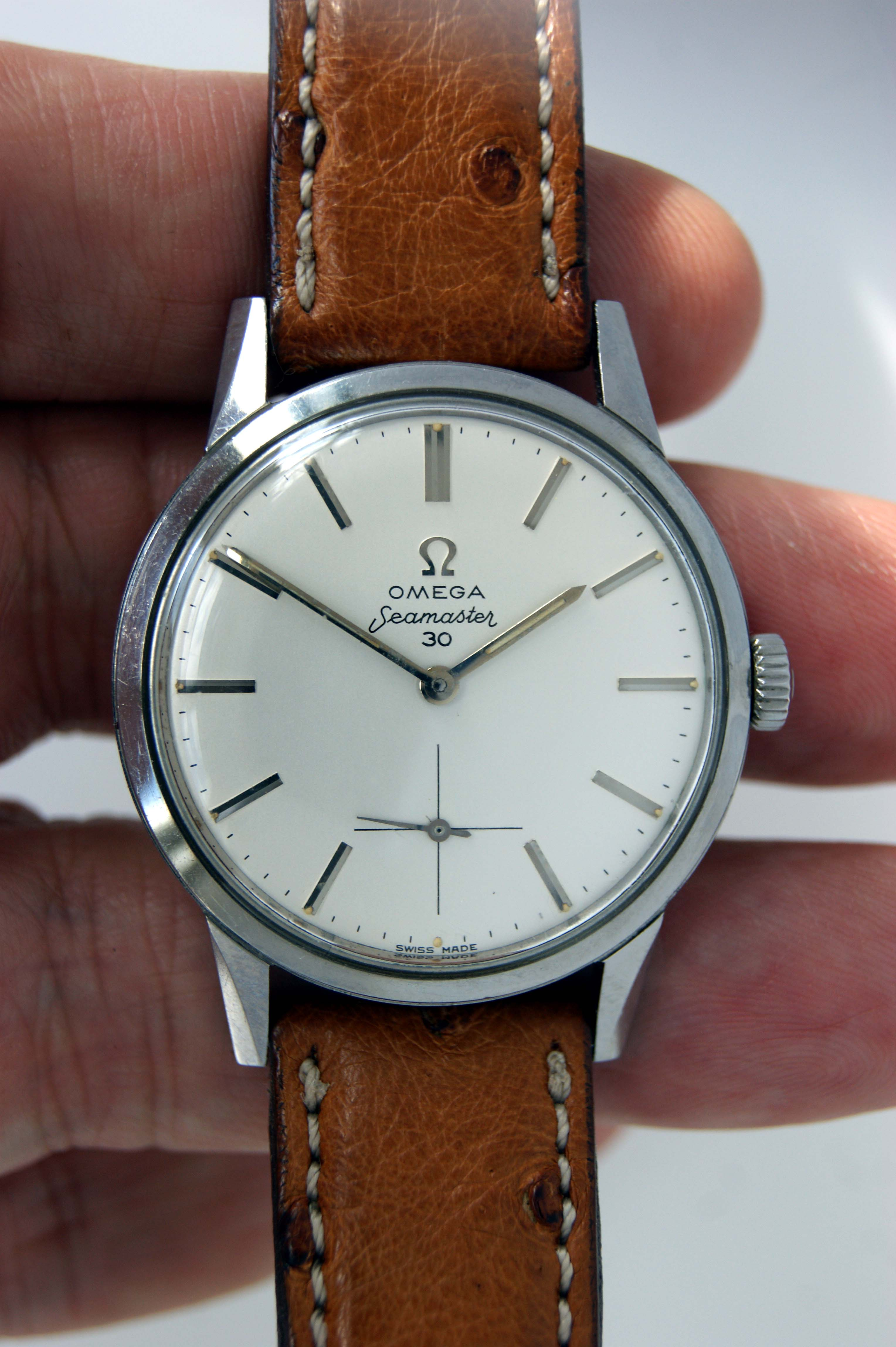 Swiss Watch 1962 Seamaster 30 New Old Stock Unsued Condition Watch