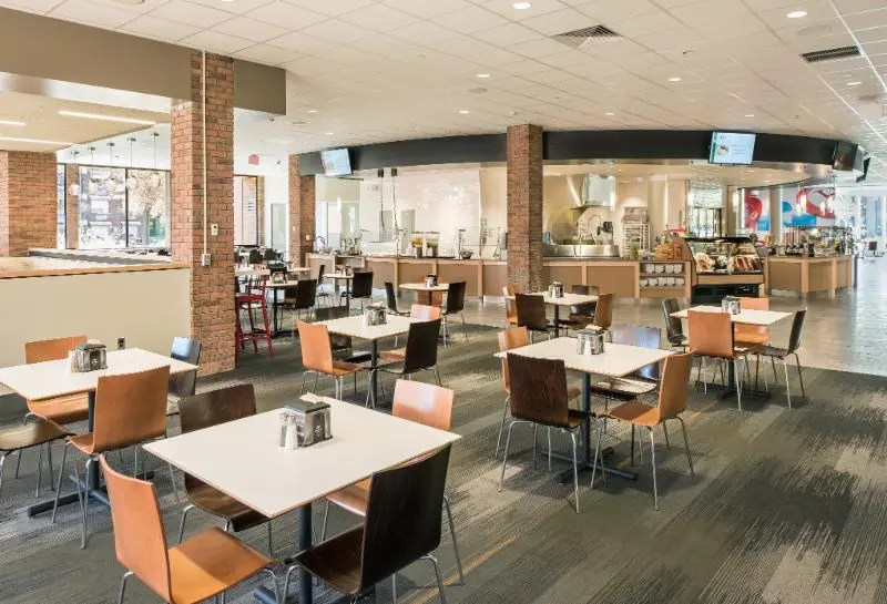 Hartford University Dining Commons Cafeteria Design A