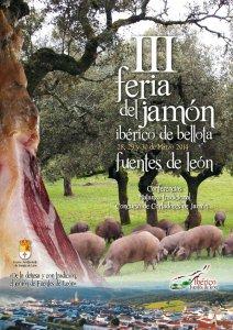 III Feria del jamón ibérico Fuentes de León 2014