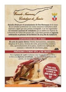 Curso de corte de jamón en Dos Hermanas (Sevilla)