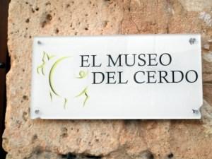El Museo del Cerdo. El Burgo de Osma (Soria)
