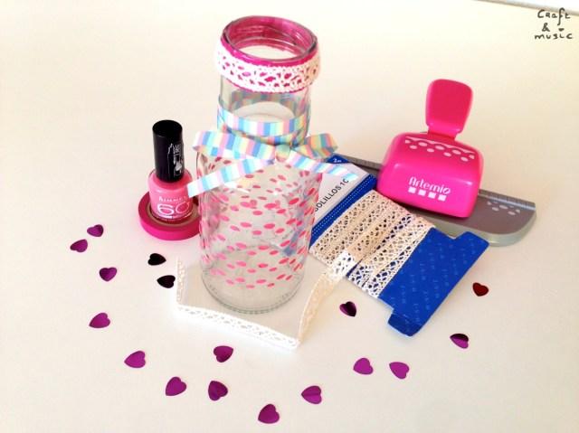 tarros de cristal decoración DIY resultado 1