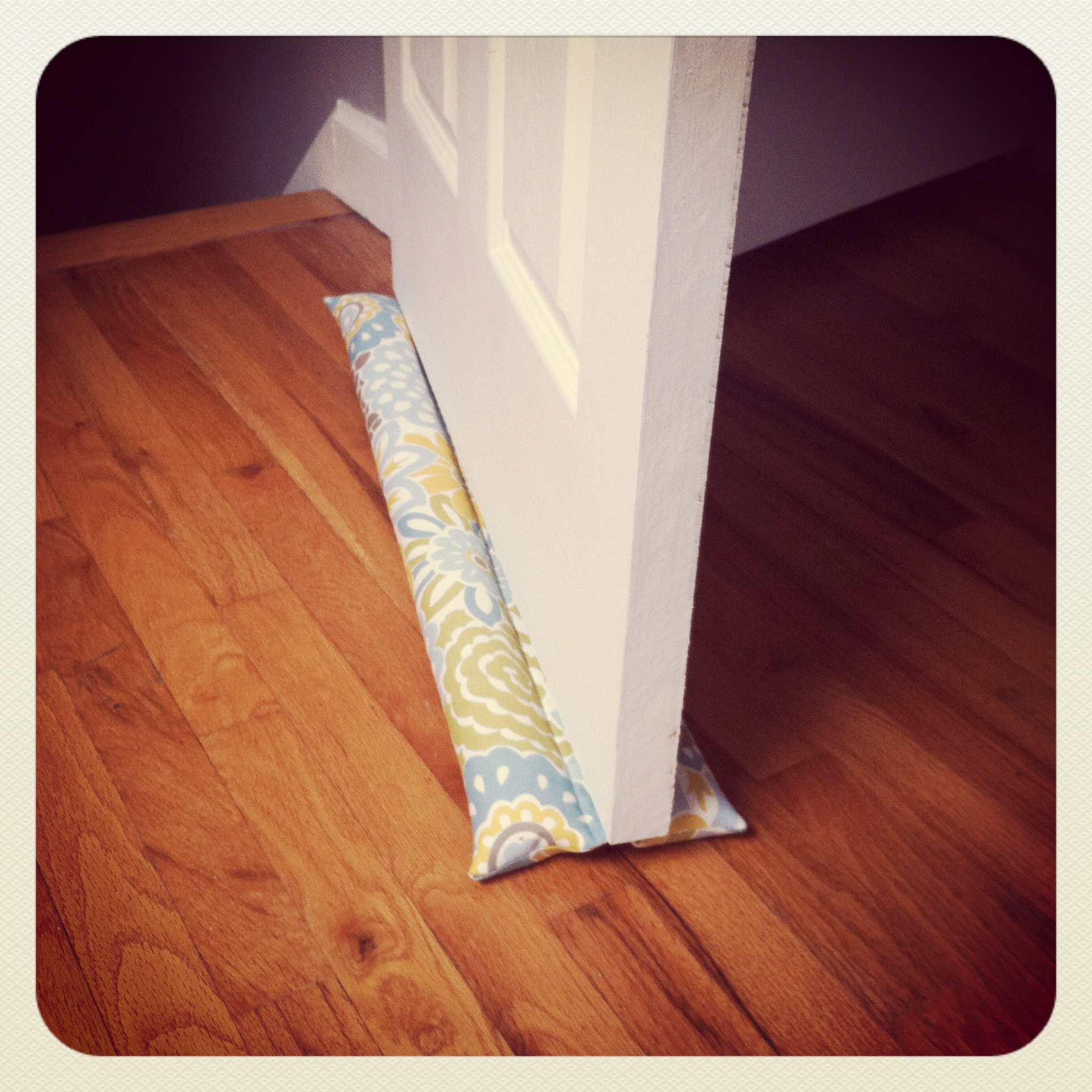 Fabric Door Stopper Diy Draft Stopper Cortlandt Place