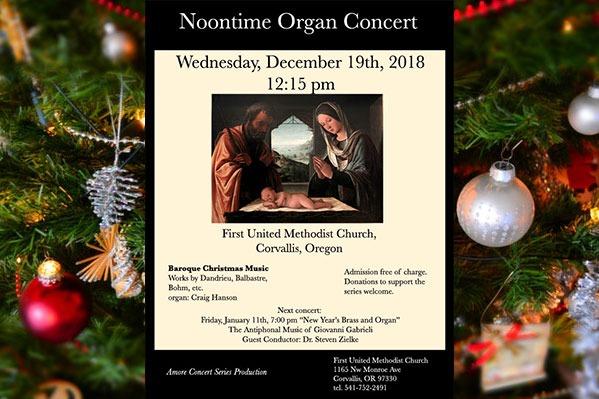 Amore Concert Series Baroque Christmas visitcorvallis