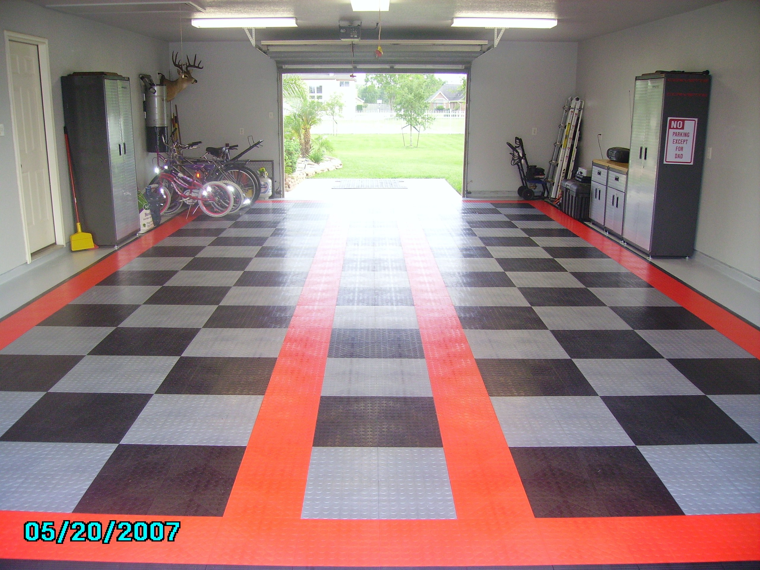 Garage Floor Tiles Or Paint Garage Floor Tile Vs Paint Corvetteforum Chevrolet Corvette