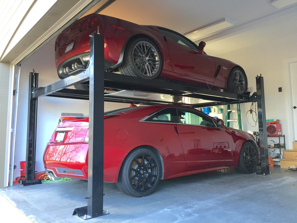 Garage Car Lift Images Garage Car Stacker Corvetteforum Chevrolet Corvette Forum