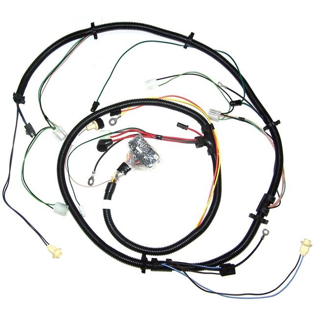 1984 corvette fuel pump wire harness