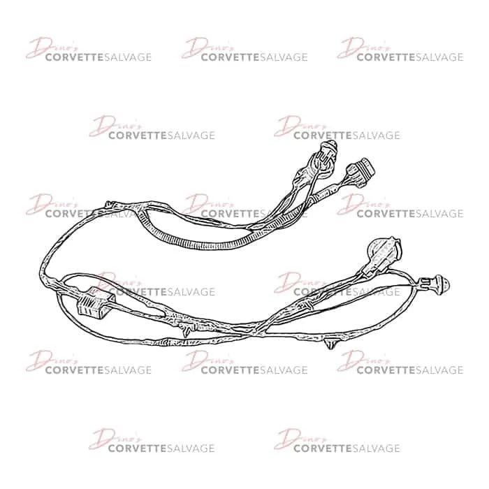 c5 corvette wiring harness