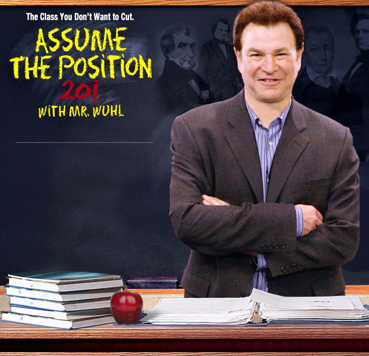 Assume the Position with Robert Wuhl 101 and 102