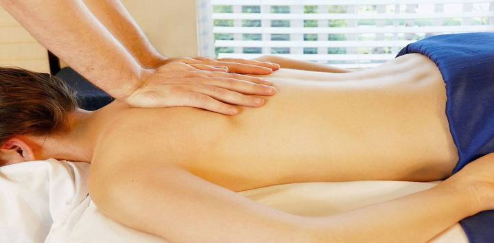 Massage methods with the slimming effect of the body parts