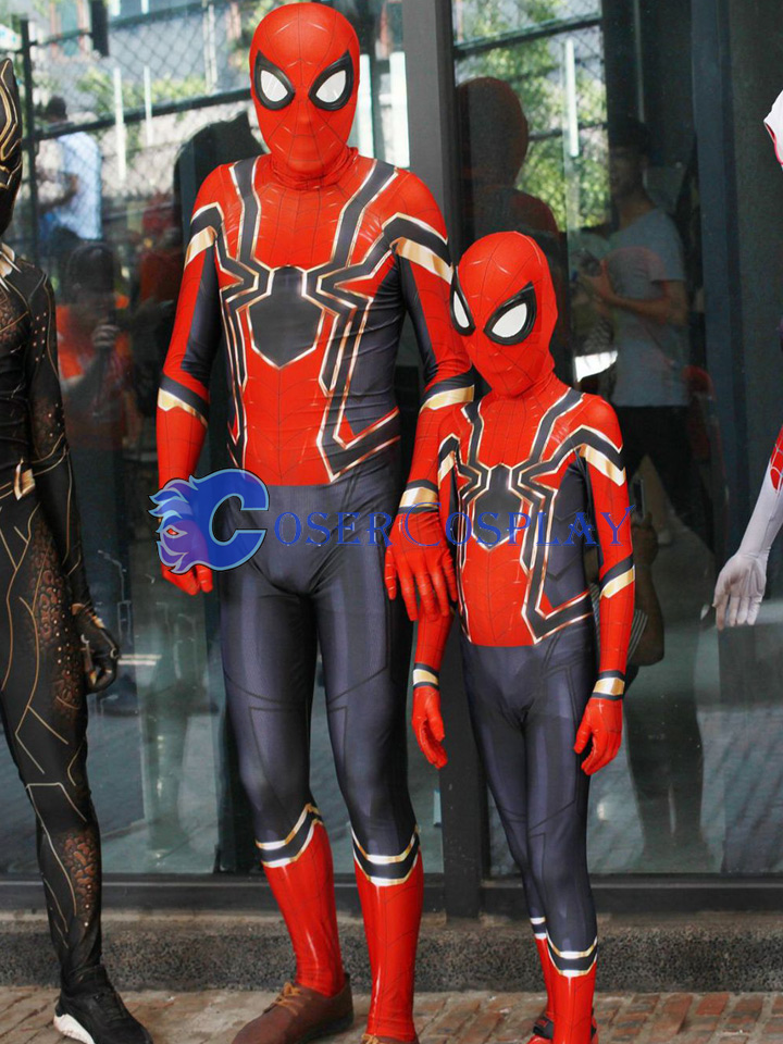 Stock Photo Zentai 2018 Amazing Spiderman Kids Halloween Costumes