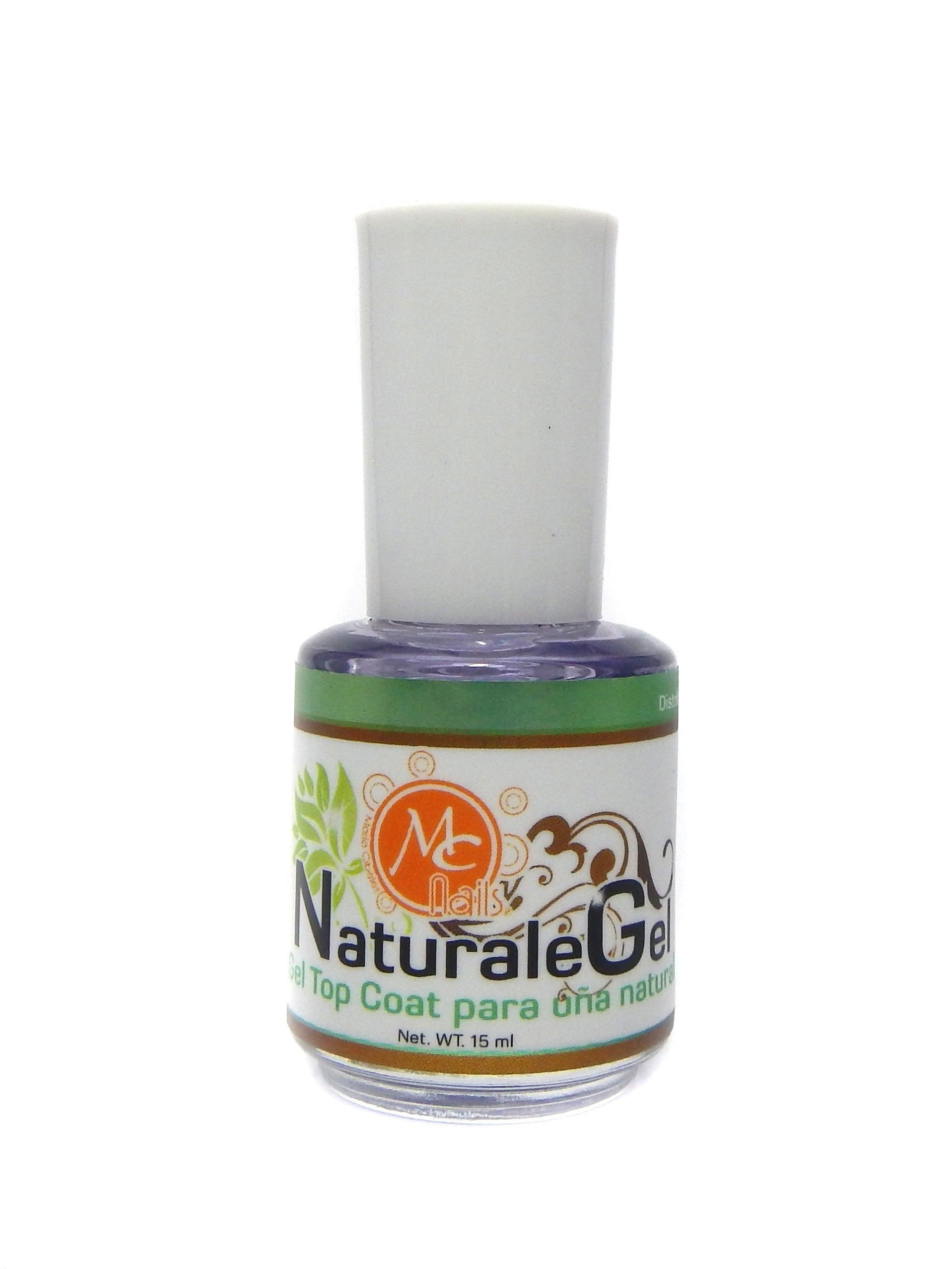 Gel Para Uñas Sin Lampara Natural Gel Top Coat Mc Nails