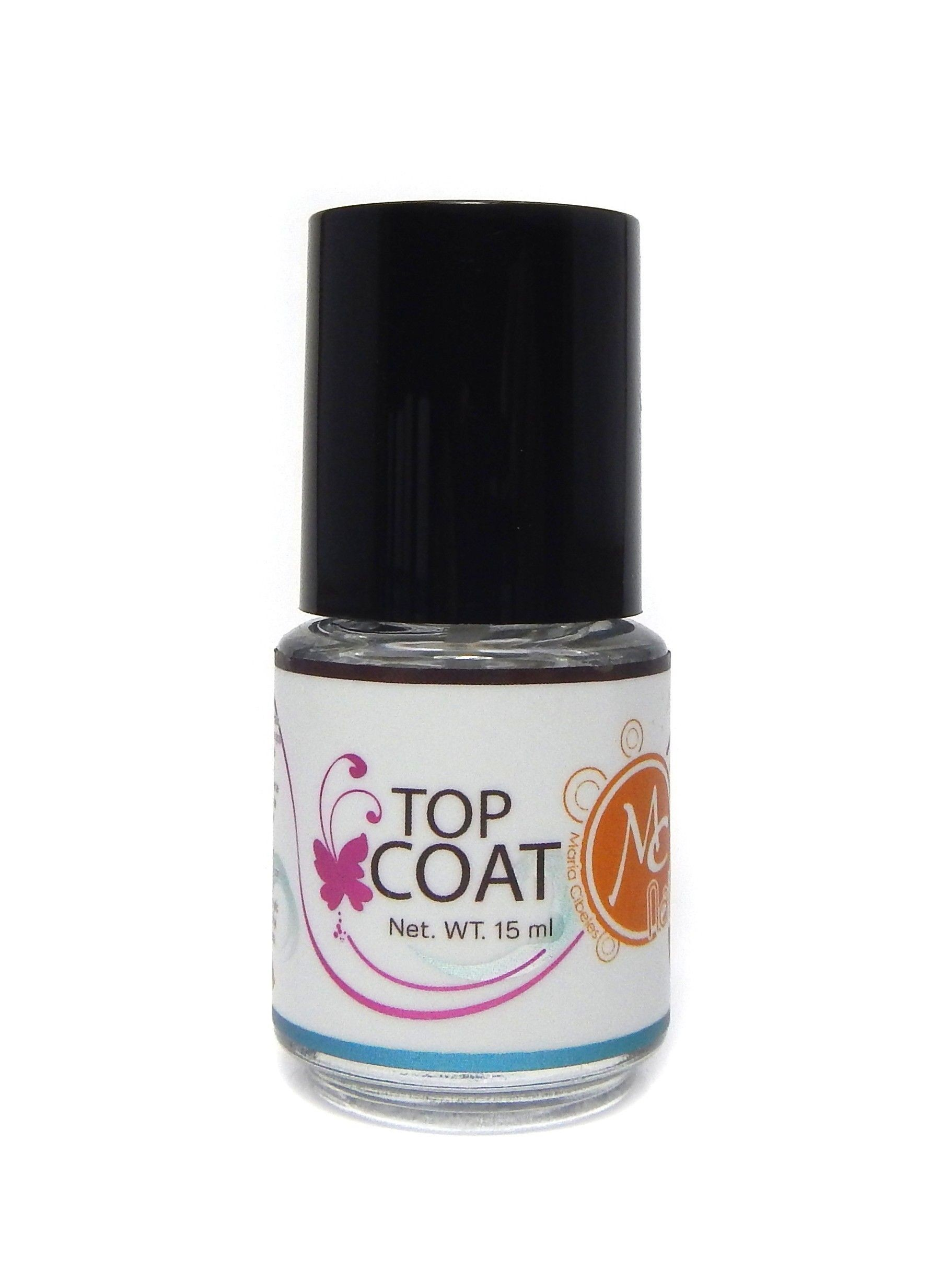 Gel Para Uñas Sin Lampara Top Coat Mc Nails