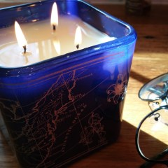 """Be the Light NYC by Petra Nemcova – American Bluebell Bliss Candle (""""Gratitude"""") Review and Pictures"""