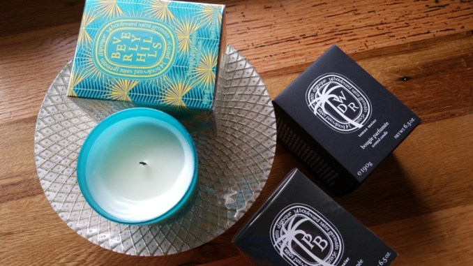 Diptyque Boutique Exclusive Candles: Tomas Maier Palm Beach; Beverly Hills; and Tomas Maier West District Road.