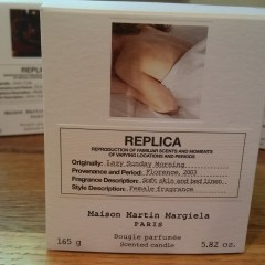 Replica by Maison Martin Margiela – Beach Walk, Lazy Sunday Morning, and Jazz Club Candles: Review and Photos