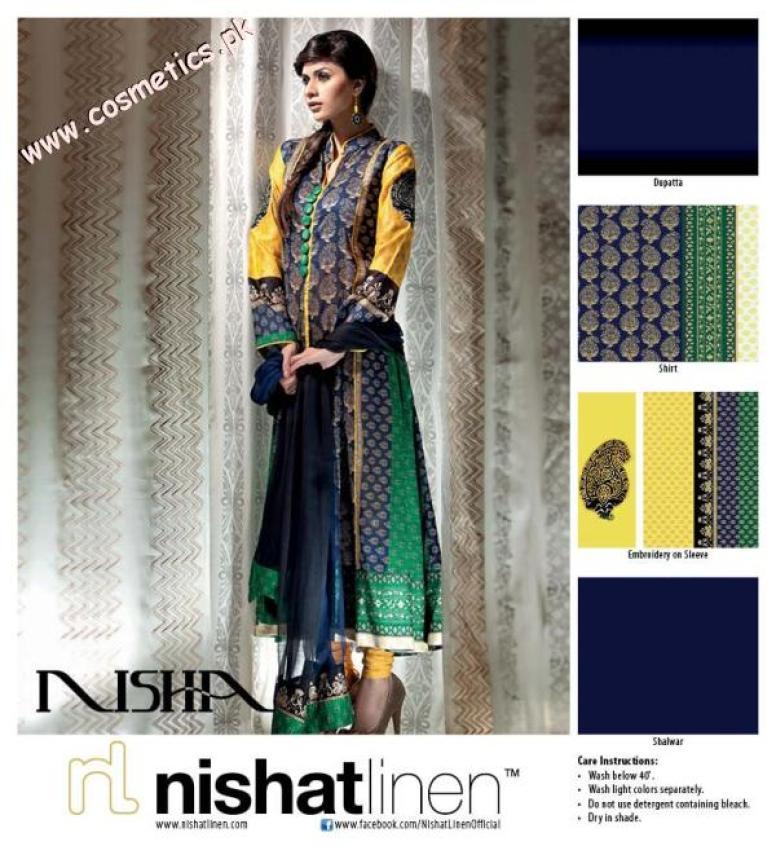 Nishat Linen Summer Collection For Women 2012. (10)