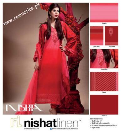 Nishat Linen Summer Collection For Women 2012. (9)