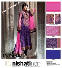 Nishat Linen Summer Collection For Women 2012. (7)