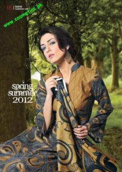 Rashid Textiles Classic Lawn For summer 2012. (6)