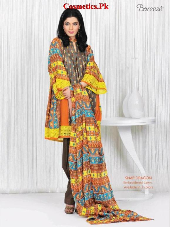 Latest Bareeze Casual Wear Collection For Summer 2012-008