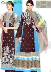 Vaneeza Ahmed Latest Summer Lawn Prints 2012-009