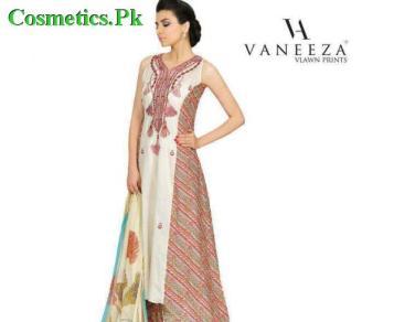 Vaneeza Ahmed Latest Summer Lawn Prints 2012-013