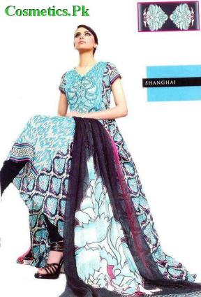 Vaneeza Ahmed Lawn Prints For Summer 2012 Complete Catalog-005